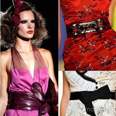 Тренд лета 2011: металлические украшения и одежда фото