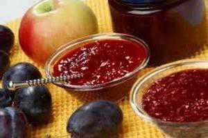 Рецепты варенья из яблок и слив, секреты выбора