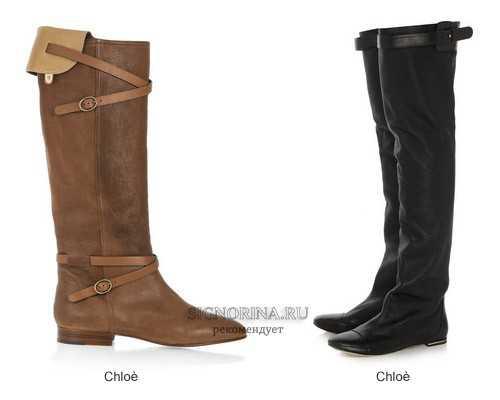 Модные ботинки осень 2012