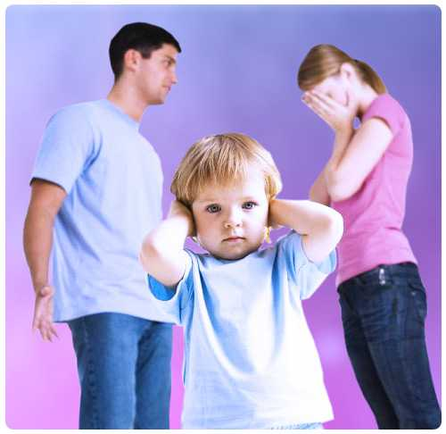 Семейные разногласия по поводу воспитания детей: