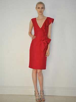 Как подобрать красное платье