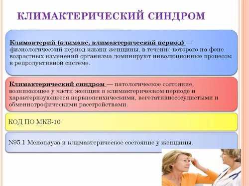 Климактерический синдром