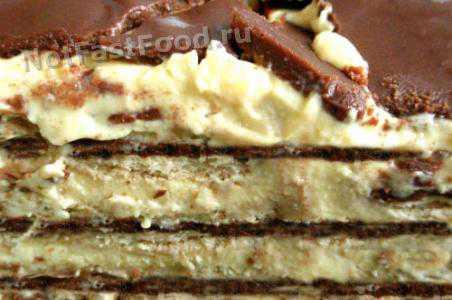 Рецепты торта из печенья Рыбки без выпечки: