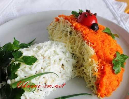 Быстрые салаты Салат Осенний костер