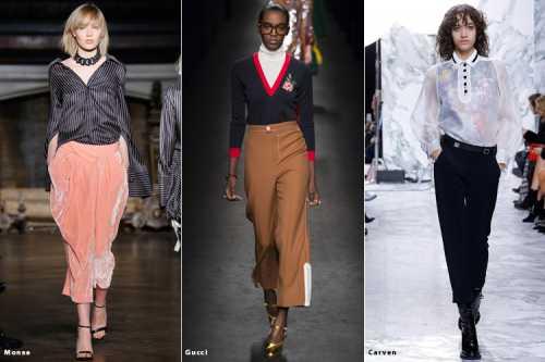 Подробно о модных тенденциях сезона осень