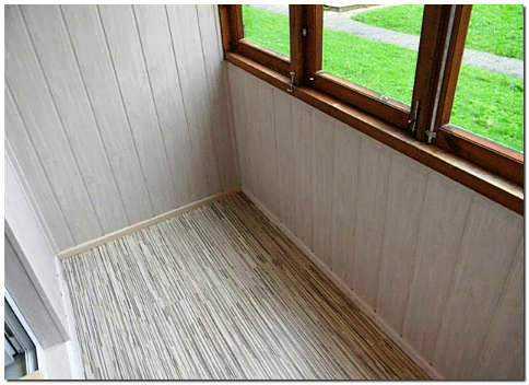 Отделка балкона вагонкой, камнем, панелями, сайдингом, ламинатом